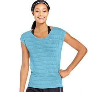 Nike Dri-Fit Cool Breeze Blue Tank Top